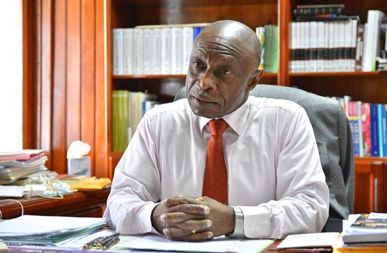 Agent of the Cooperative Republic of Guyana, Carl Greenidge