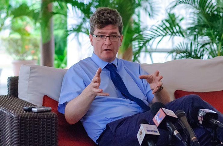 British High Commissioner to Guyana, Grey Quinn