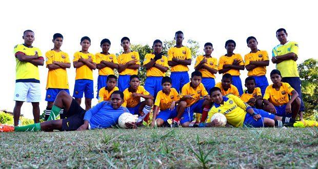 Members of the Hosororo United Football club