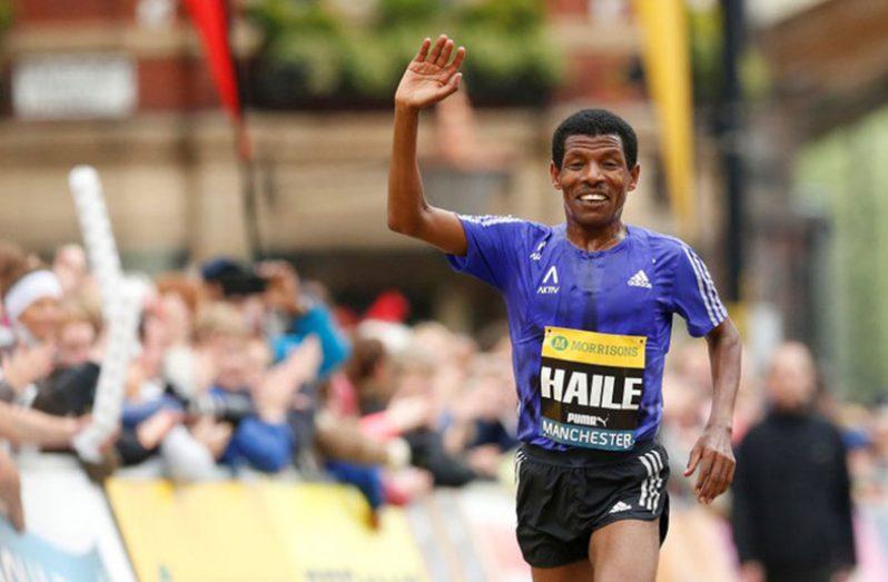 Ethiopia's Haile Gebrselassie