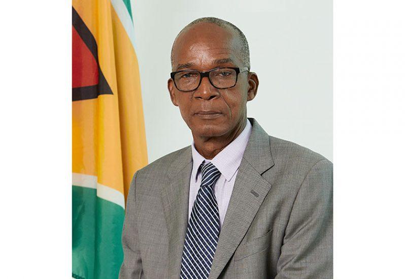 Minister of Labour Joseph Hamilton
