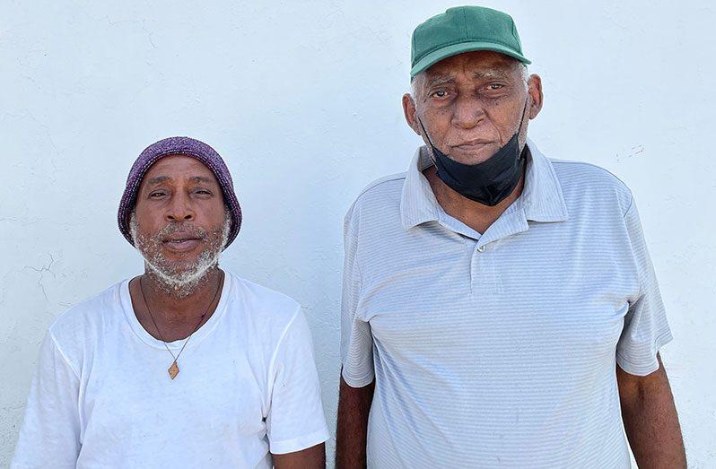 Ras Kent, President of the Guyana Industrial Hemp Producers (left) and Michal Kirton, Vice President of the Guyana Hemp Industries Company Inc.