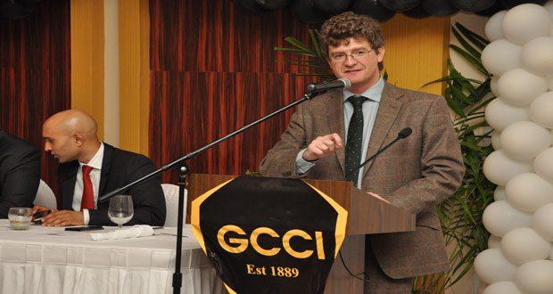 British High Commissioner to Guyana James Quinn