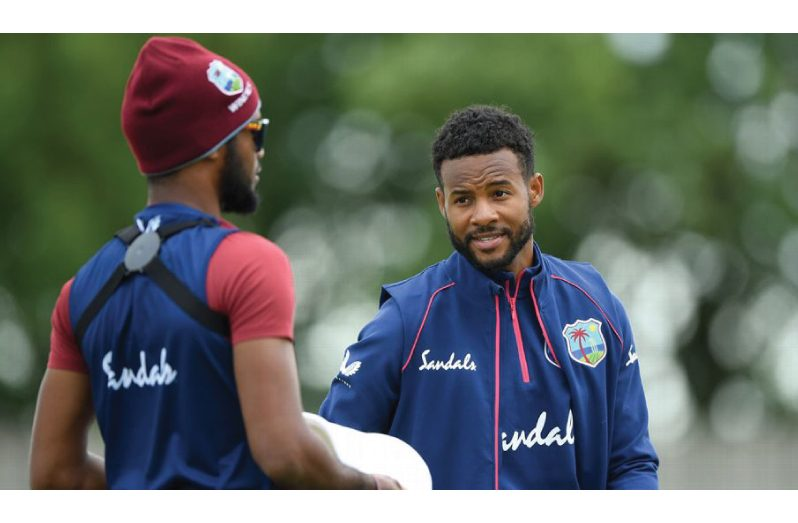 Shai Hope is desperate to rediscover his 2017 form. (Getty Images)