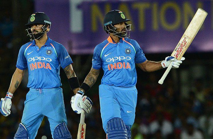 Dhawan leads India to thumping win over Sri Lanka