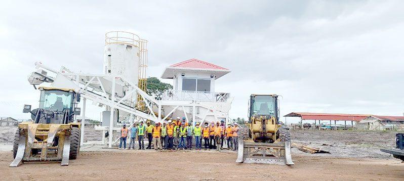 Caribbean Concrete Guyana Limited's US$2M concrete batching plant at Linden