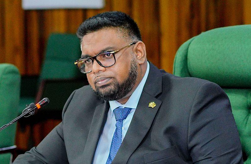 President Irfaan Ali