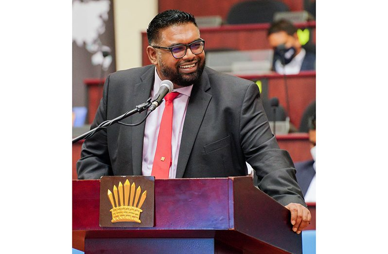 President, Dr Irfaan Ali