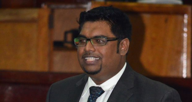 PPP/C MP, Irfaan Ali