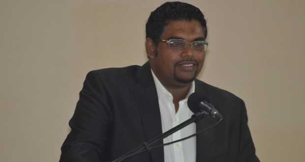 former Minister Irfaan Ali