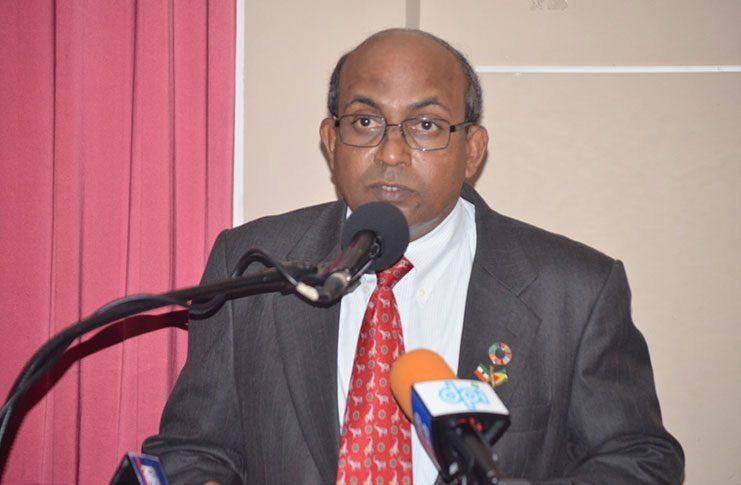 Indian High Commissioner to Guyana Dr. Venkatachalam Mahalingam