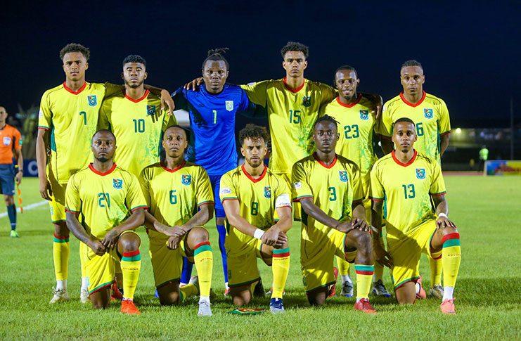Guyana senior Men's national football team