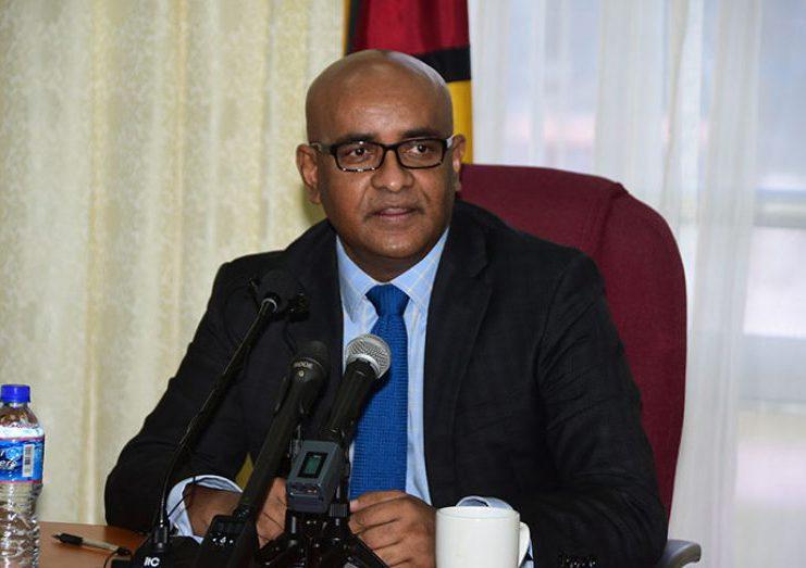 Vice-President, Dr. Bharrat Jagdeo