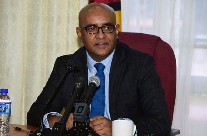 Vice President, Dr. Bharrat Jagdeo