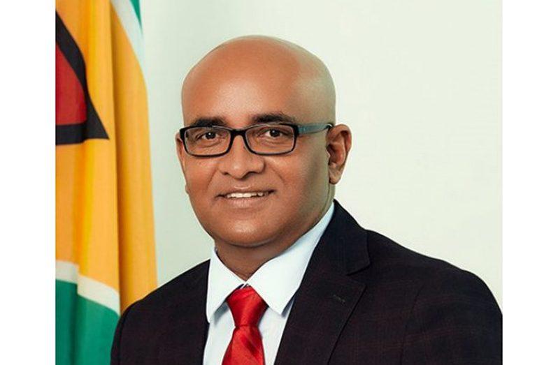 Vice-President, Dr. Bharrat Jadgeo