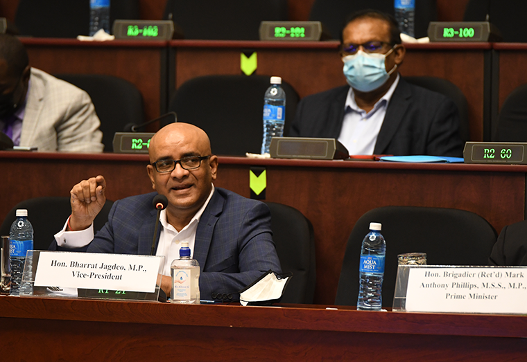 Vice-President, Bharrat Jagdeo