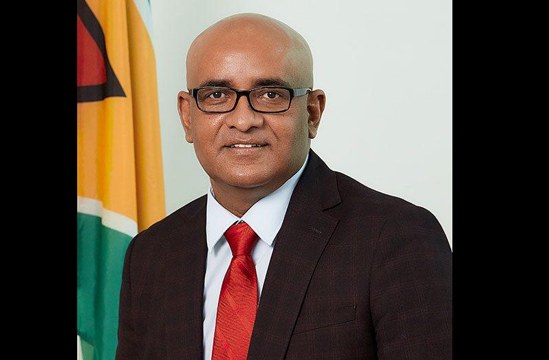 Vice-President. Dr. Bharrat Jagdeo