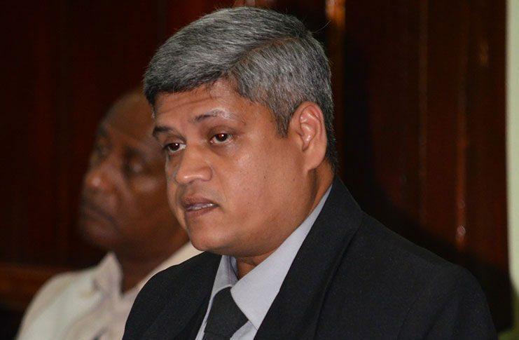 Former APNU+AFC Minister, Jaipaul Sharma