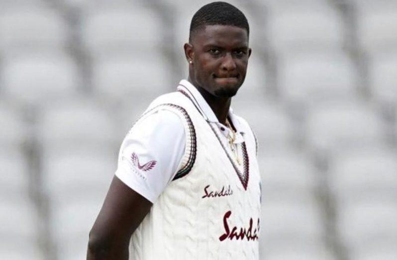 West Indies captain Jason Holder