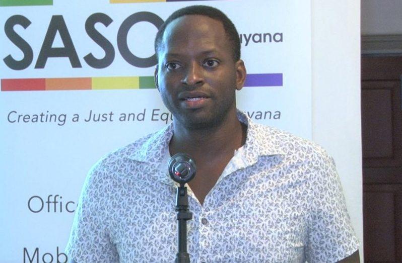 SASOD Guyana Managing Director, Joel Simpson