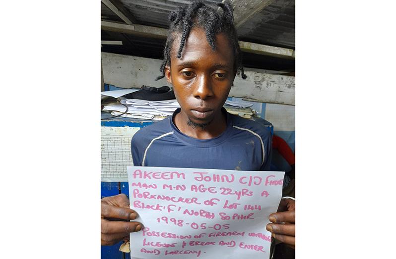 Akeem John, called 'Fineman'