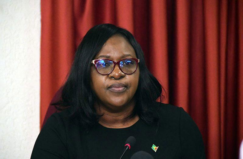 Karen: APNU+AFC Parliamentarian, Dr. Karen Cummings