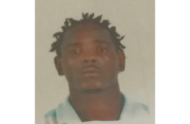 Murder suspect, (now deceased) Keron Mark Adams.
