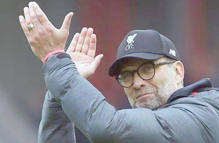 Liverpool manager Jurgen Klopp.