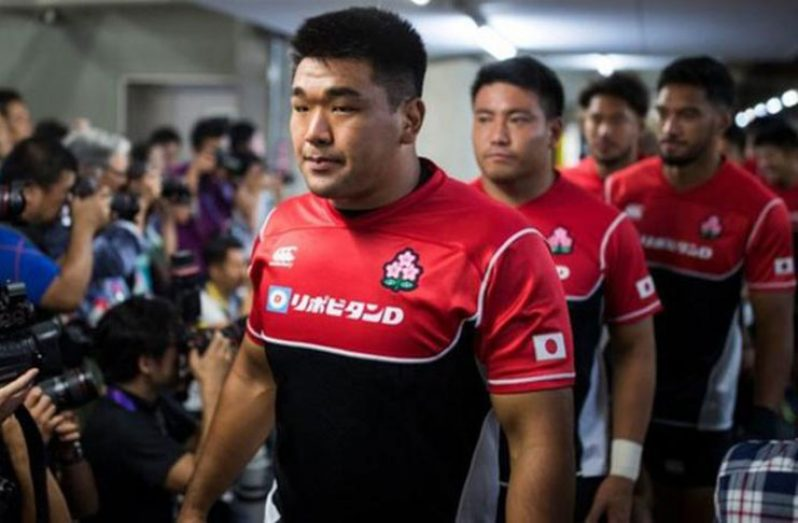 Japan's prop Koo Ji-won and his team-mates are under intense scrutiny.