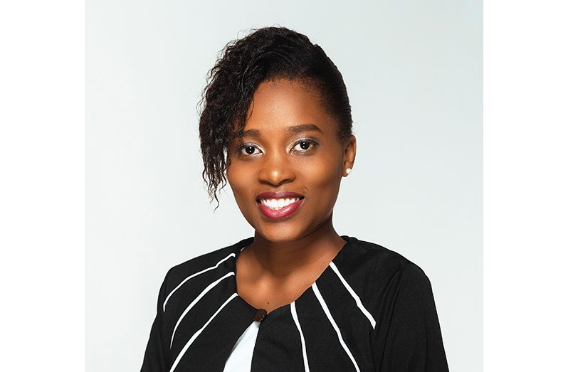 Newly sworn-in Attorney-at-Law, Latifah Elliot