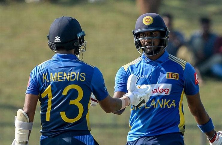 Kusal Mendis (127)  and Avishka Fernando (119) paired in rollicking, record 239-run, third-wicket stand. (Getty Images)