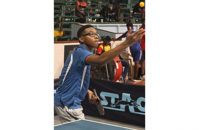 Isaiah Layne won the Boys U18 Elite Championships