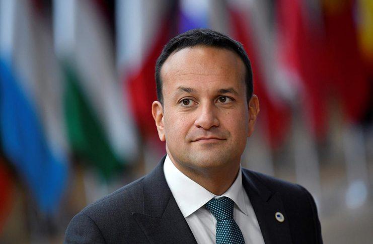 Ireland's Prime Minister (Taoiseach) Leo Varadkar