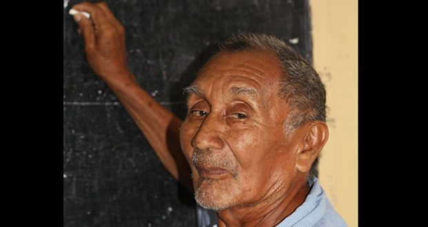 Leonard Fredericks (74) spent over half of his life teaching at interior locations in Guyana