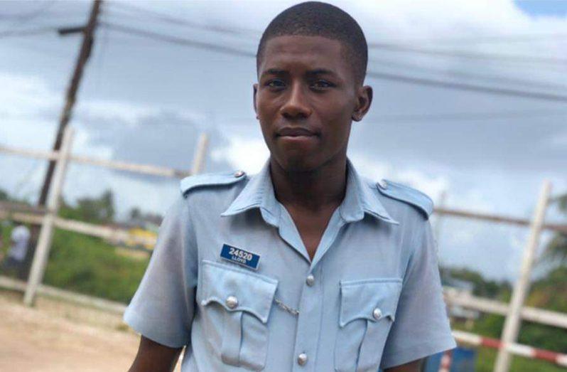 Police Constable Omali Lloyd