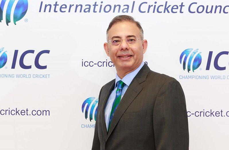 ICC chief executive Manu Sawhney
