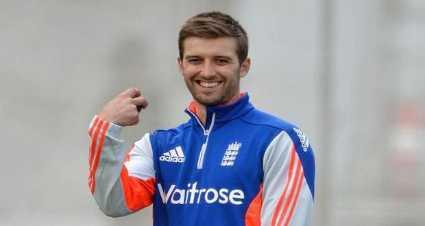England fast bowler Mark Wood
