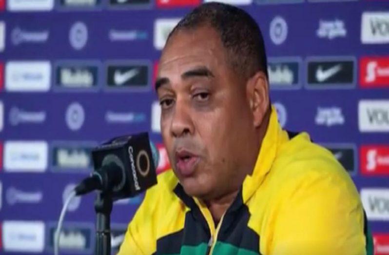 Head coach of Jamaica's senior women's team Hue Menzies.