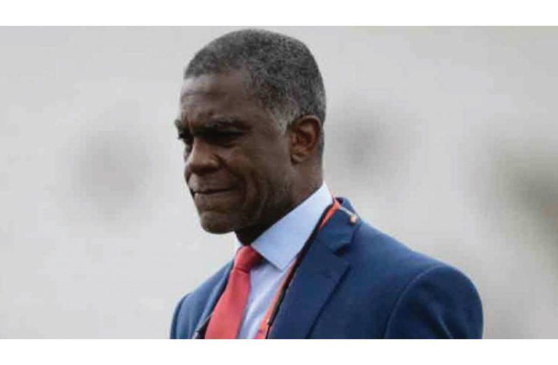 West Indies bowling legend Michael Holding
