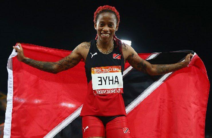 Commonwealth Games gold medallist Michelle-Lee Ahye.