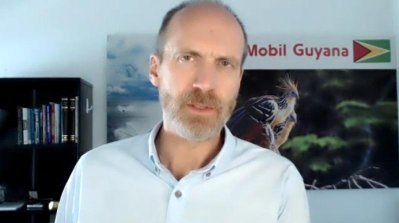 ExxonMobil Guyana Production Manager, Mike Ryan