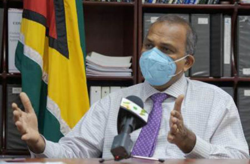 Health Minister, Dr. Frank Anthony