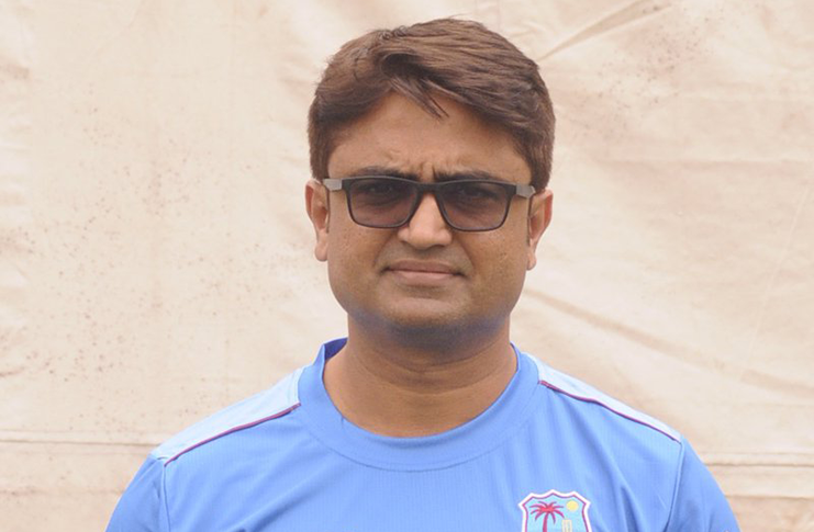 New Windies batting coach Monty Desai.