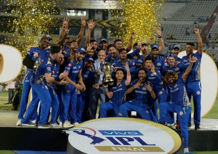 Mumbai Indians won their fourth IPL title last year.