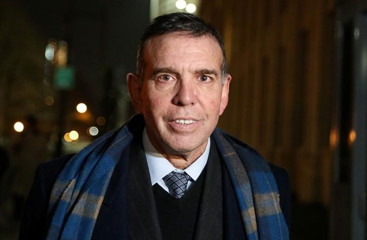 Former S American football boss Juan Angel Napout has been banned for life.