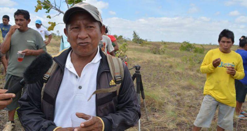 Walter Hendrico, Toshao of Nappi