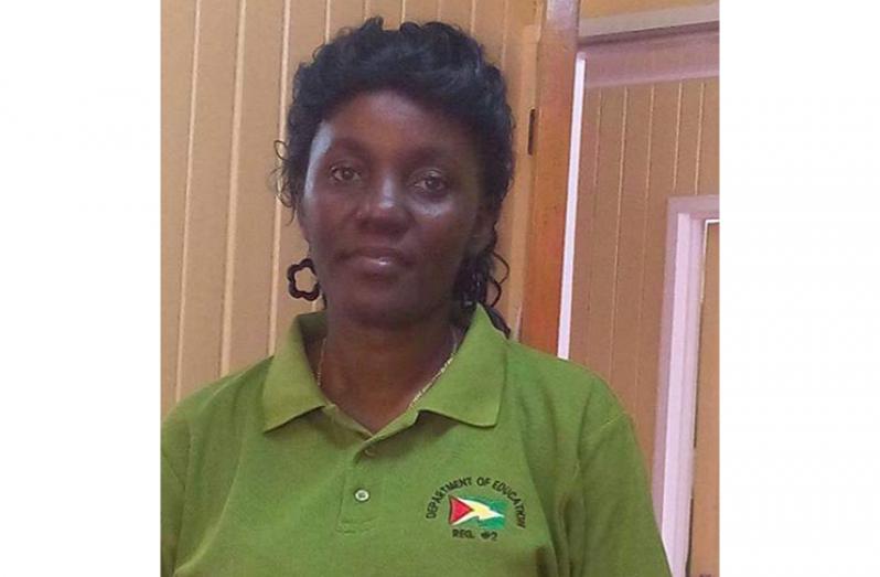 Regional Education Officer Ms Nichola Matthews