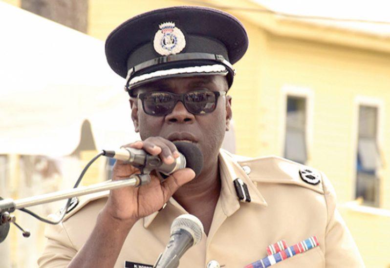 Commissioner of Police (ag) Nigel Hoppie
