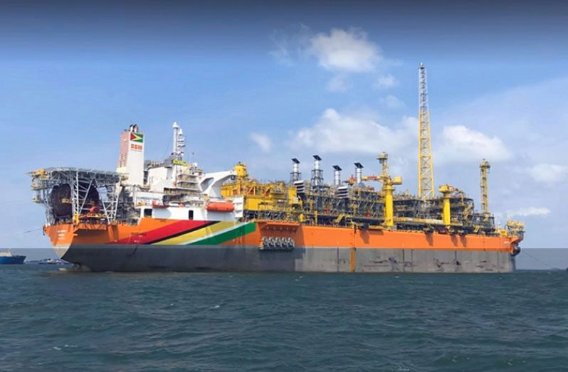 The Liza Destiny Floating Production Storage and Offloading (FPSO) vessel, The Liza Destiny Floating Production Storage and Offloading (FPSO) vessel