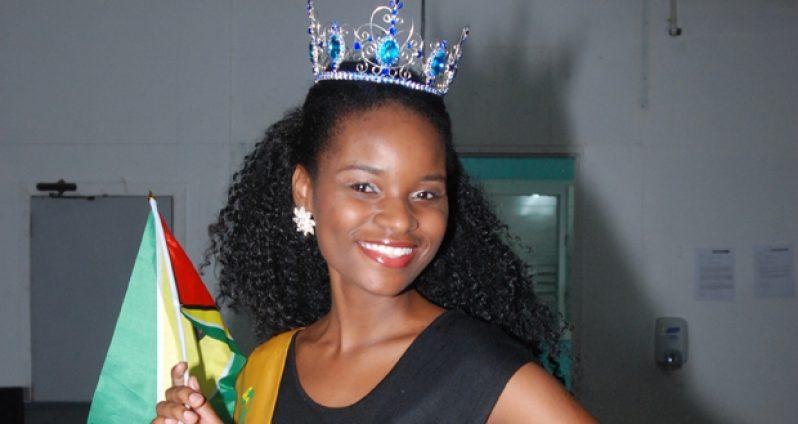 Onesha Hutson, Miss Global International Guyana 2014
